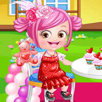 Baby Hazel Valentine Dress Up
