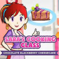 Sara's Cooking Class: Dark Chocolate Blackberry Cheesecake